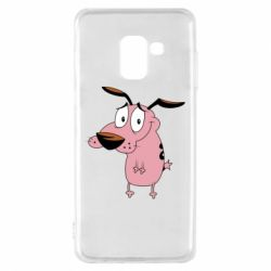 Чохол для Samsung A8 2018 Courage - a cowardly dog