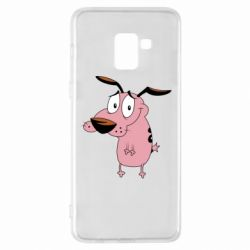 Чохол для Samsung A8+ 2018 Courage - a cowardly dog