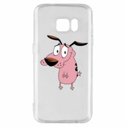 Чохол для Samsung S7 Courage - a cowardly dog