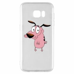 Чохол для Samsung S7 EDGE Courage - a cowardly dog