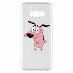 Чохол для Samsung S8 Courage - a cowardly dog