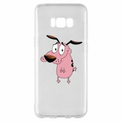 Чохол для Samsung S8+ Courage - a cowardly dog