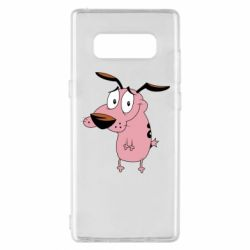 Чохол для Samsung Note 8 Courage - a cowardly dog
