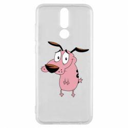Чехол для Huawei Mate 10 Lite Courage - a cowardly dog - FatLine