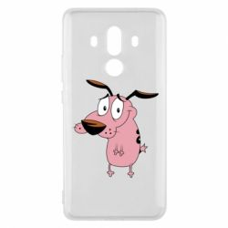 Чехол для Huawei Mate 10 Pro Courage - a cowardly dog - FatLine