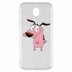 Чохол для Samsung J7 2017 Courage - a cowardly dog