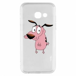 Чохол для Samsung A3 2017 Courage - a cowardly dog