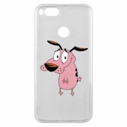 Чохол для Xiaomi Mi A1 Courage - a cowardly dog