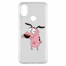 Чохол для Xiaomi Mi A2 Courage - a cowardly dog