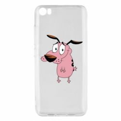 Чохол для Xiaomi Mi5/Mi5 Pro Courage - a cowardly dog