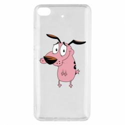 Чохол для Xiaomi Mi 5s Courage - a cowardly dog
