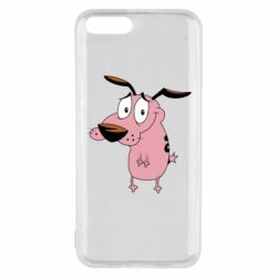 Чохол для Xiaomi Mi6 Courage - a cowardly dog