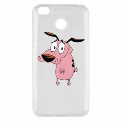 Чехол для Xiaomi Redmi 4x Courage - a cowardly dog - FatLine