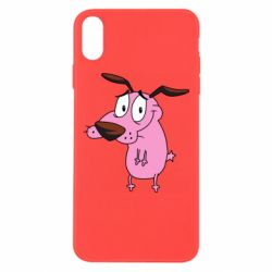 Чохол для iPhone Xs Max Courage the Cowardly Dog