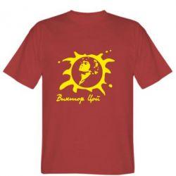 Мужская футболка Цой Виктор - FatLine