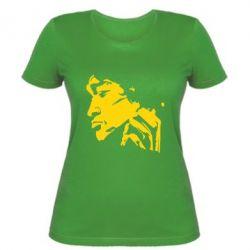 Женская футболка Цой