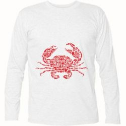 Футболка з довгим рукавом Crab from transport