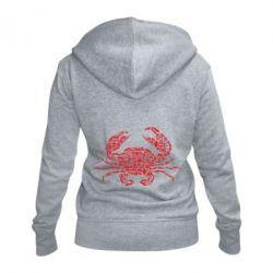 Жіноча толстовка на блискавці Crab from transport