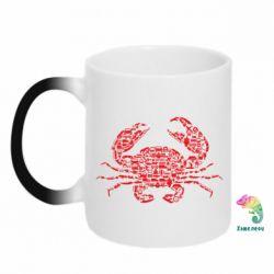 Кружка-хамелеон Crab from transport