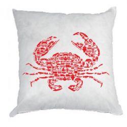 Подушка Crab from transport
