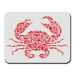 Килимок для миші Crab from transport