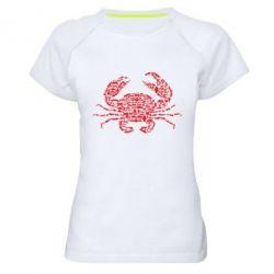 Жіноча спортивна футболка Crab from transport