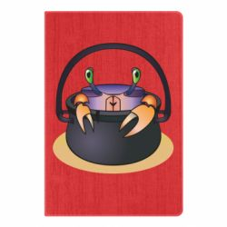 Блокнот А5 Crab in a bowler hat