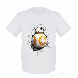 Детская футболка Crack