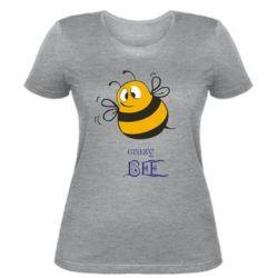 Женская футболка Crazy Bee - FatLine