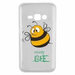 Чехол для Samsung J1 2016 Crazy Bee