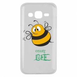 Чехол для Samsung J2 2015 Crazy Bee