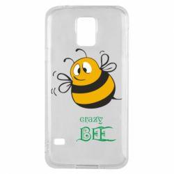 Чехол для Samsung S5 Crazy Bee
