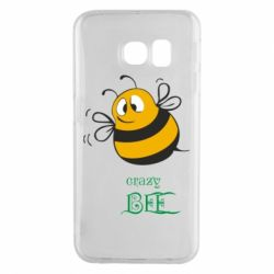 Чохол для Samsung S6 EDGE Crazy Bee