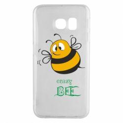 Чехол для Samsung S6 EDGE Crazy Bee