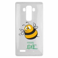 Чехол для LG G4 Crazy Bee - FatLine