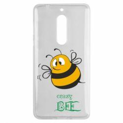 Чехол для Nokia 5 Crazy Bee - FatLine