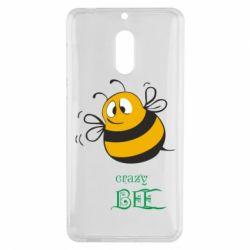 Чехол для Nokia 6 Crazy Bee - FatLine