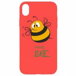 Чехол для iPhone XR Crazy Bee