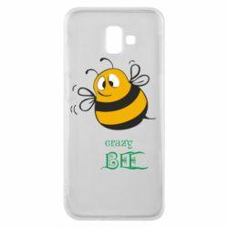 Чехол для Samsung J6 Plus 2018 Crazy Bee
