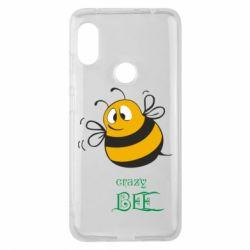 Чехол для Xiaomi Redmi Note 6 Pro Crazy Bee - FatLine