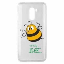 Чехол для Xiaomi Pocophone F1 Crazy Bee - FatLine