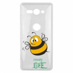 Чехол для Sony Xperia XZ2 Compact Crazy Bee - FatLine