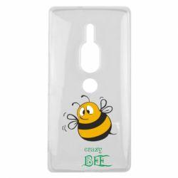Чехол для Sony Xperia XZ2 Premium Crazy Bee - FatLine