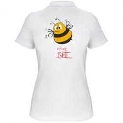 Женская футболка поло Crazy Bee