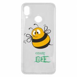 Чехол для Huawei P Smart Plus Crazy Bee - FatLine