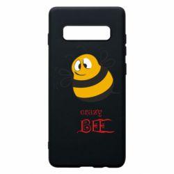 Чехол для Samsung S10+ Crazy Bee