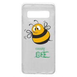 Чехол для Samsung S10 Crazy Bee