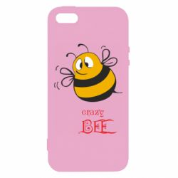 Чохол для iphone 5/5S/SE Crazy Bee