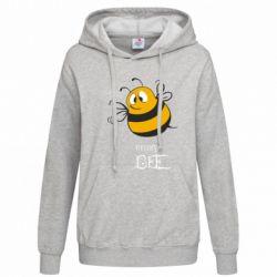 Женская толстовка Crazy Bee