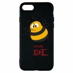 Чехол для iPhone 8 Crazy Bee
